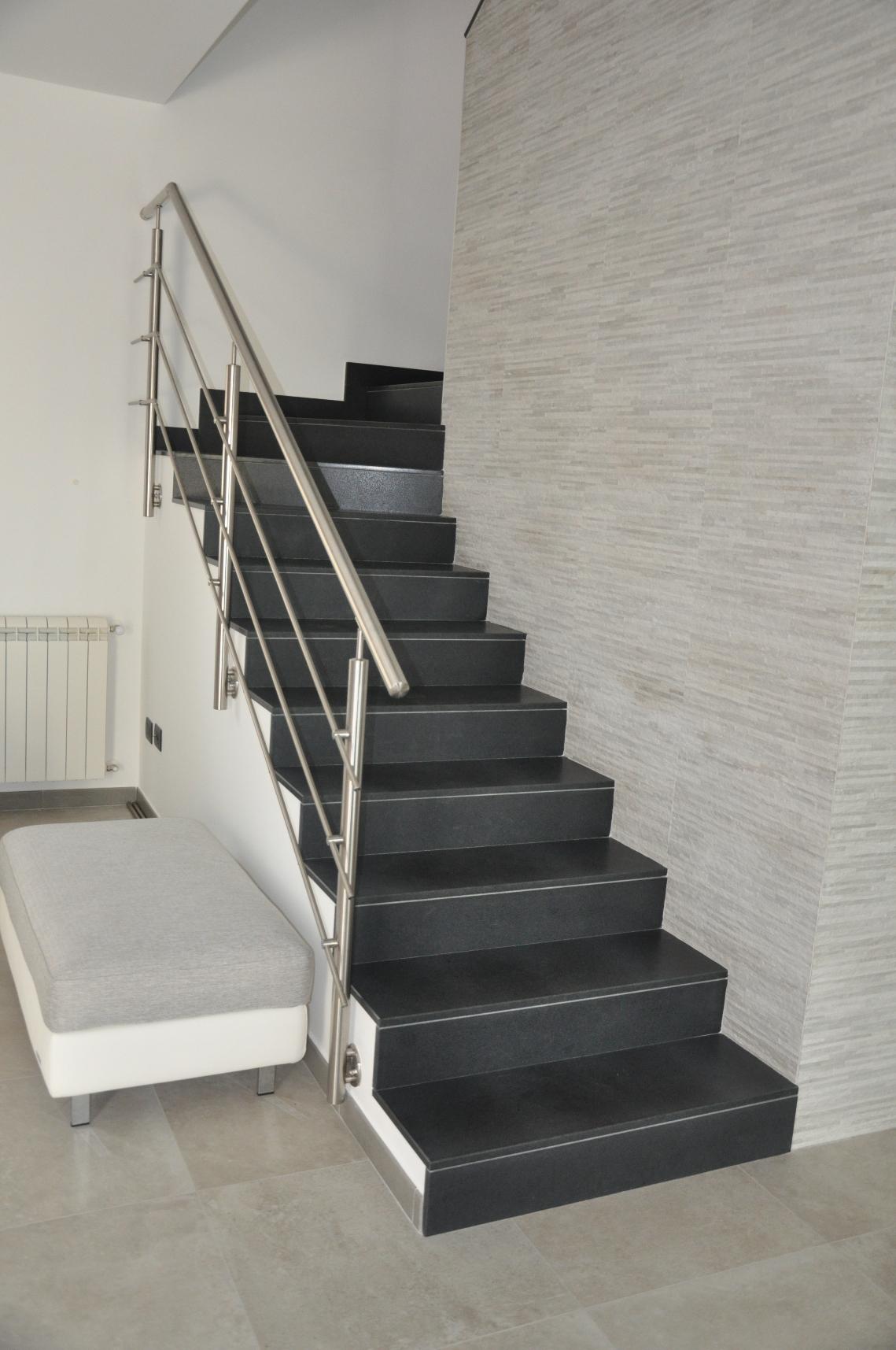 Scala In Marmo Nero scale – cufalo marmi